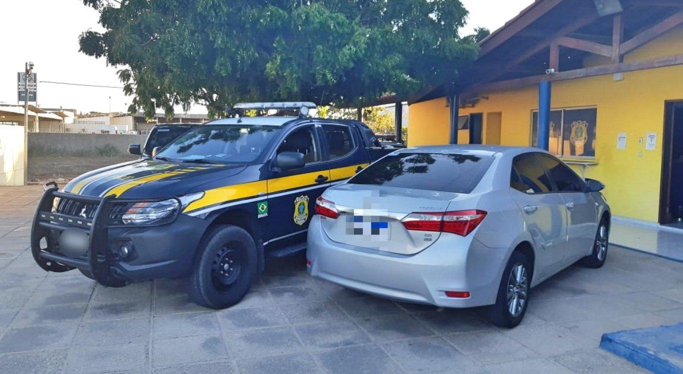 Homem foi detido com carro roubado