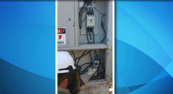 Celpe desativa esquema de fraude de energia capaz de abastecer mil residências