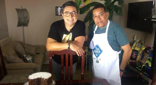 Chef Wellington prepara Brigadeirão com Cookies em Vasco da Gama