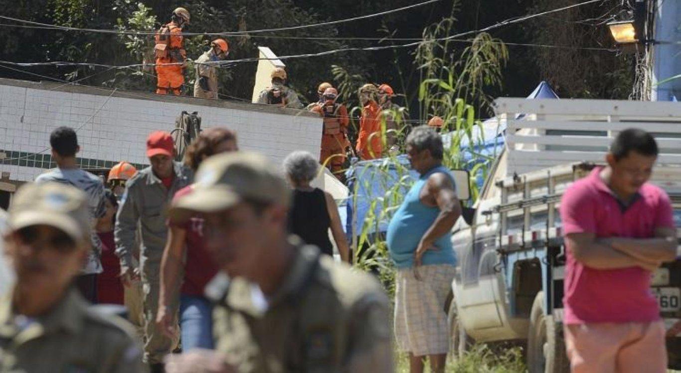 Prédios desabaram no Rio de Janeiro