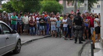 A tragédia causou forte comoção no município de Caruaru, no Agreste de Pernambuco