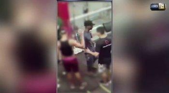 O suspeito deixou os alunos e professores sem reação
