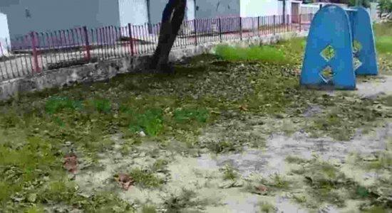Vídeo: população denuncia praça abandonada em Olinda
