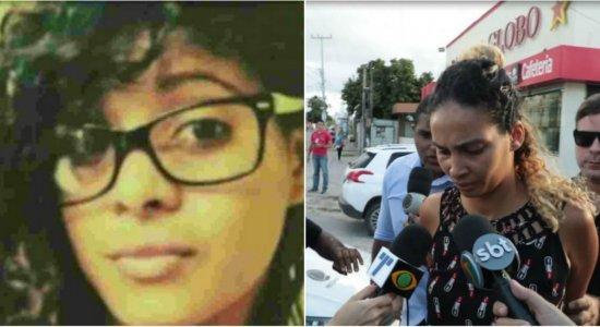 Irmã de Sandy Evelin apagou dados de celular da adolescente após crime, diz Polícia