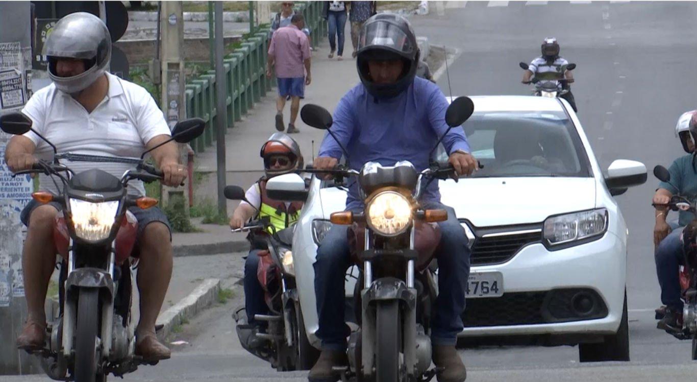 Números de acidentes de moto chamam a atenção em Caruaru