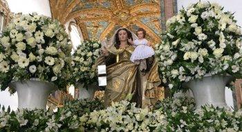 Celebrações acontecem na Basília de Nossa Senhora do Carmo, na área central do Recife
