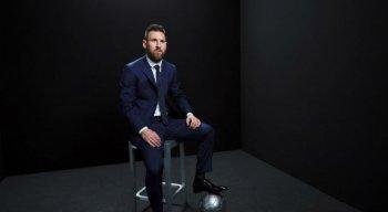 Messi foi eleito o melhor do mundo pela sexta vez.