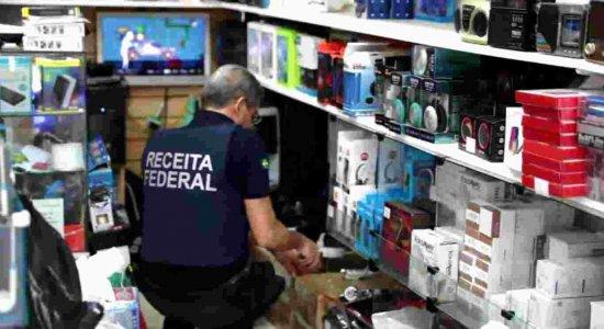 Mais de 100 estabelecimentos no Centro do Recife são alvos de fiscalização