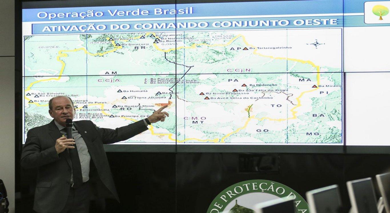 Ação governamental é voltada a combater incêndios na Região Amazônica