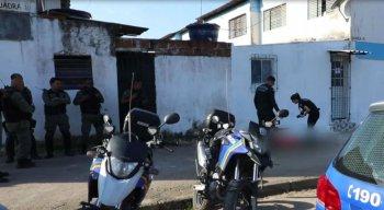 O crime aconteceu no bairro de Vila Rica, em Jaboatão dos Guararapes,