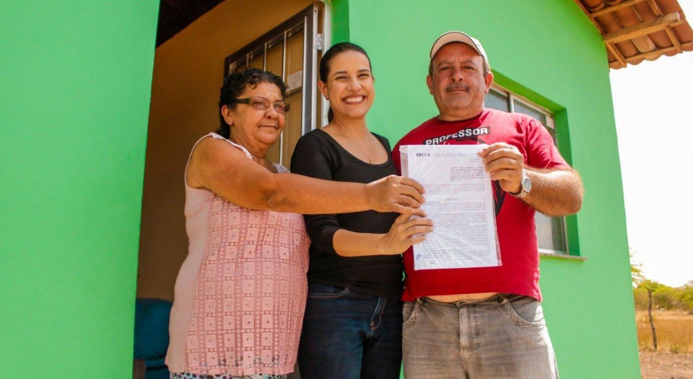 Mais de 150 casas já foram entregues na zona rural de Caruaru