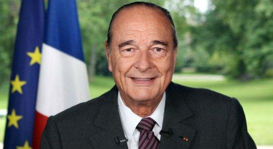 Ex-presidente da França, Jacques Chirac morre aos 86 anos