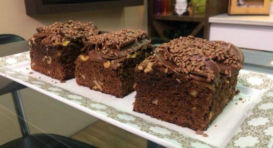 Aprenda a fazer Brownie de Café Especial