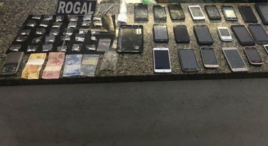 Polícia prende suspeitos de tráfico de cocaína em Paulista