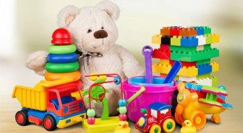 Brinquedos serão doados no dia 11 de outubro