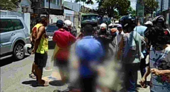 Ciclista morre atropelado por caminhão na Avenida Caxangá