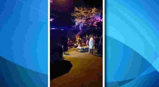 Acidente deixa oito pessoas feridas, em Fernando de Noronha