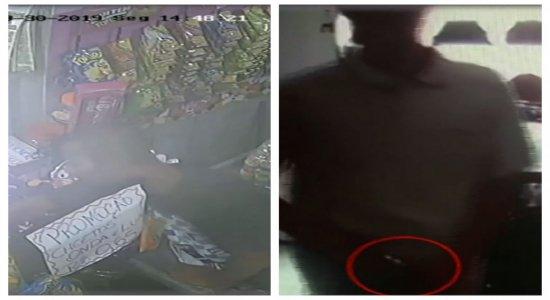 Vídeos mostram assaltos a estabelecimentos em Jaboatão dos Guararapes