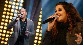 Cantores católicos Davidson Silva e Eliana Ribeiro