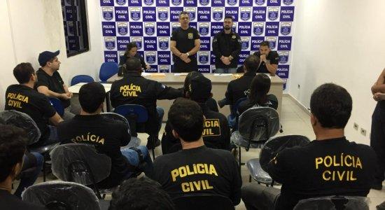 Polícia Civil inicia operação para desarticular grupo criminoso em PE