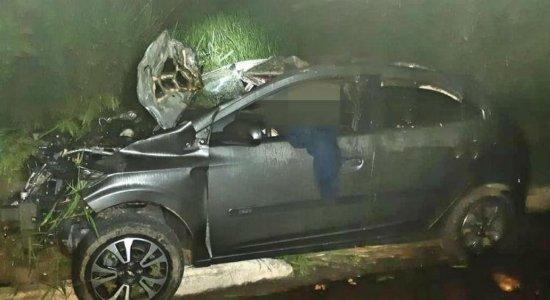Homem fica ferido e três cavalos morrem após acidente na BR-408