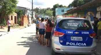 O crime aconteceu no bairro de Caixa D'Água