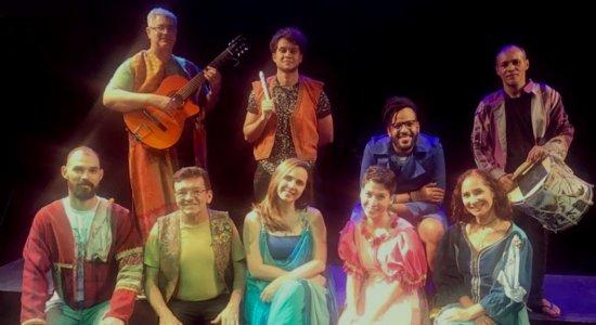 Companhia Fiandeiros de Teatro estreia espetáculo musical no Recife
