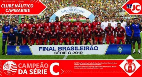 Náutico: baixe o pôster de Campeão Brasileiro da Série C