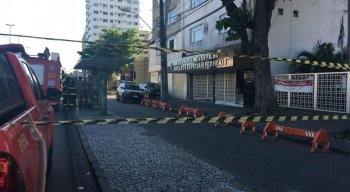As pessoas foram evacuadas do local às 15h15
