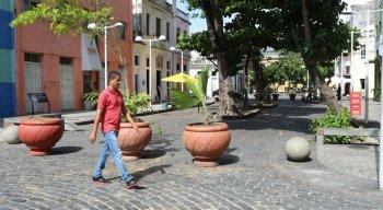 Rua da Moeda passa a ser exclusiva para os pedestres
