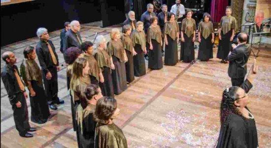 Festival Nacional de Corais inicia, nesta terça (8), no Teatro Santa Isabel