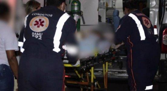 Menina de 2 anos e parentes são vítimas de bala perdida em Jaboatão