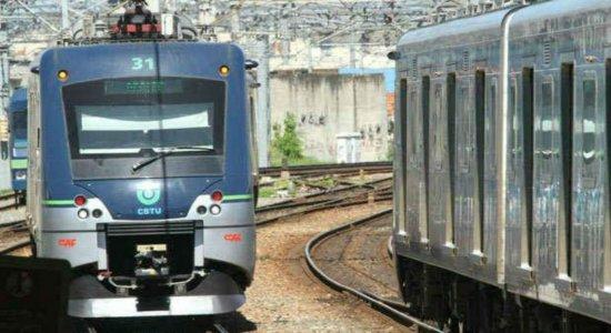 Metrô do Recife apresenta falha entra as estações Shopping e Tancredo Neves