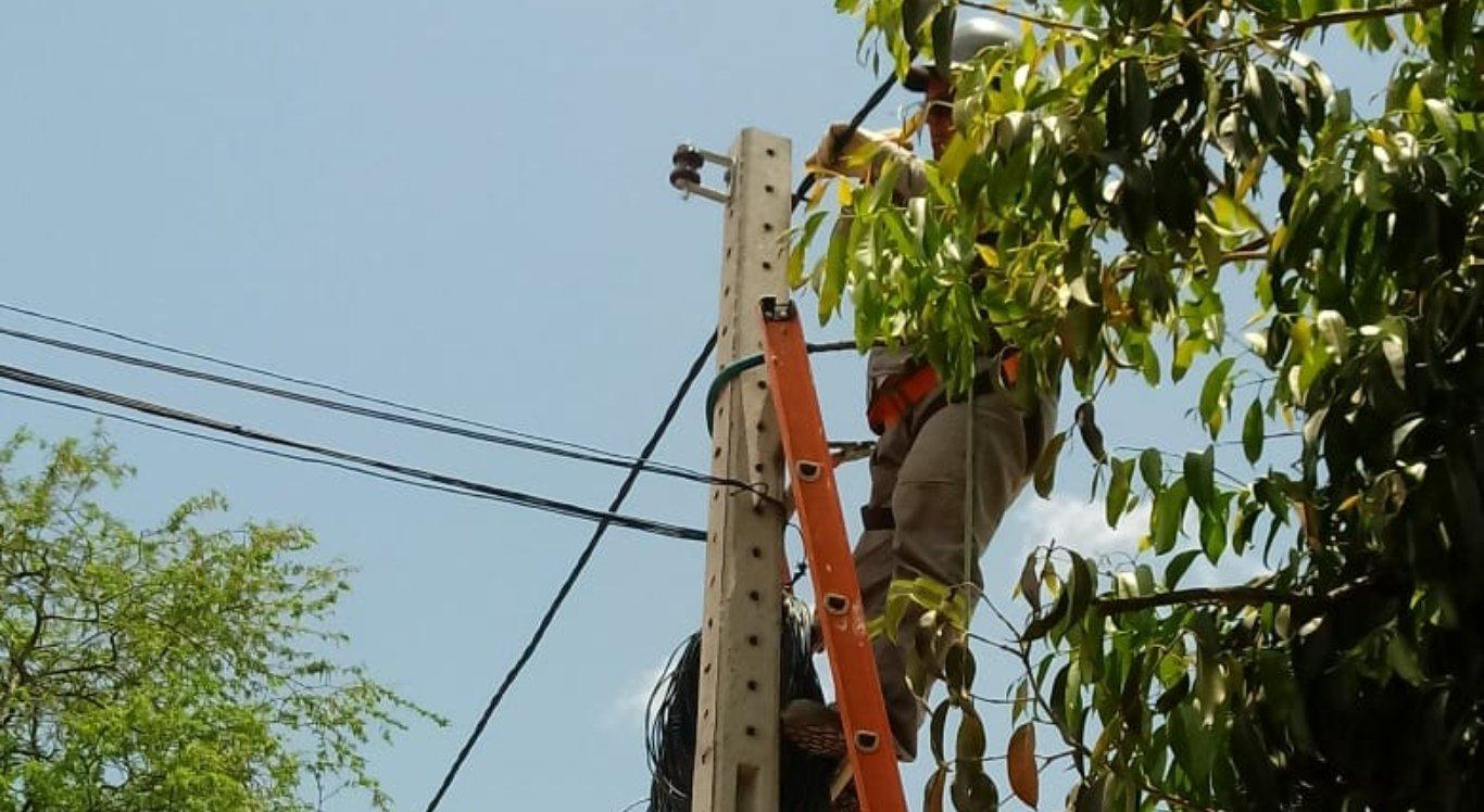Prefeitura inicia segunda etapa de requalificação da parte elétrica do Parque 18 de maio