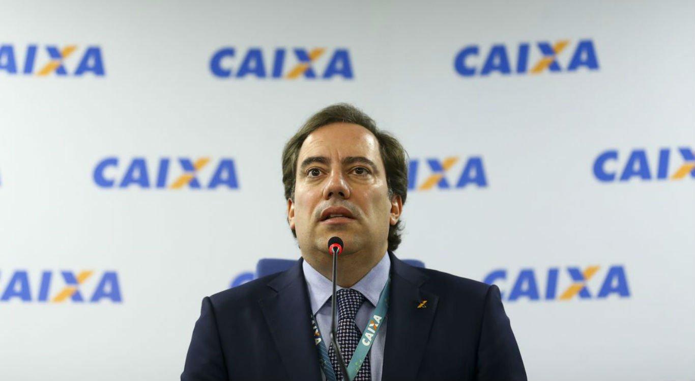 O presidente da Caixa Econômica Federal, Pedro Guimarães