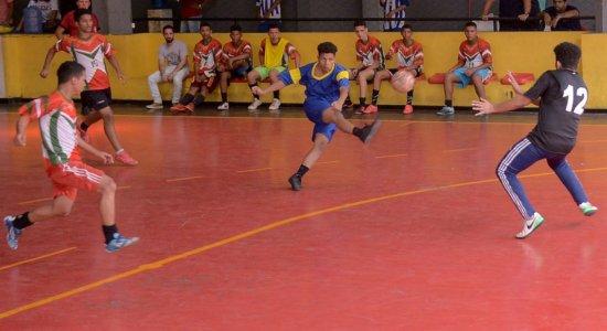 Futsal é a grande novidade do Recife Bom de Bola neste final de semana
