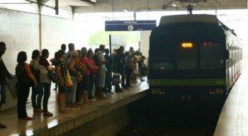Ainda de acordo com a CBTU, no período, também estão fechadas as estações de Cavaleiro, Floriano, Engenho Velho e Jaboatão.