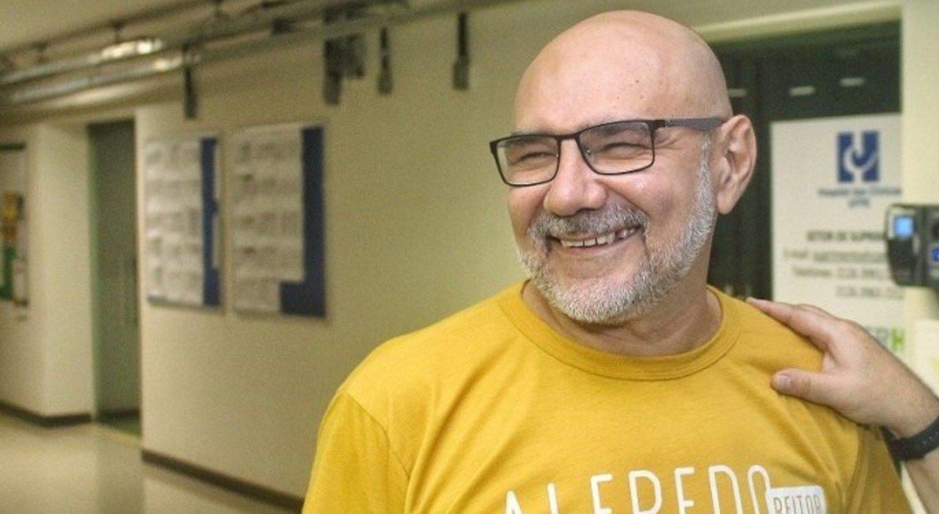 Chapa Mude foi encabeçada pelo professor Alfredo Gomes
