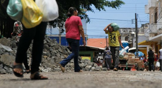 Prefeitura do Recife faz mudança no entorno do Mercado de São José