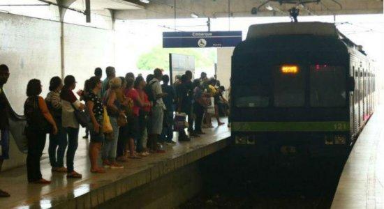 Ramal Jaboatão do Metrô do Recife não irá funcionar no domingo (13)