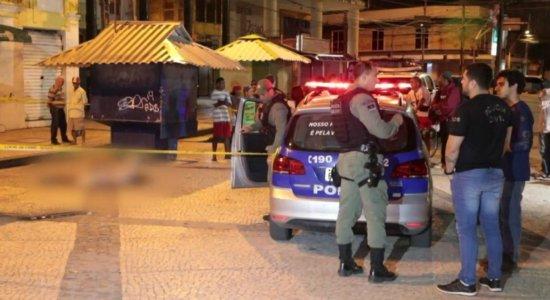 Idoso reage a assalto e é assassinado no Centro do Recife