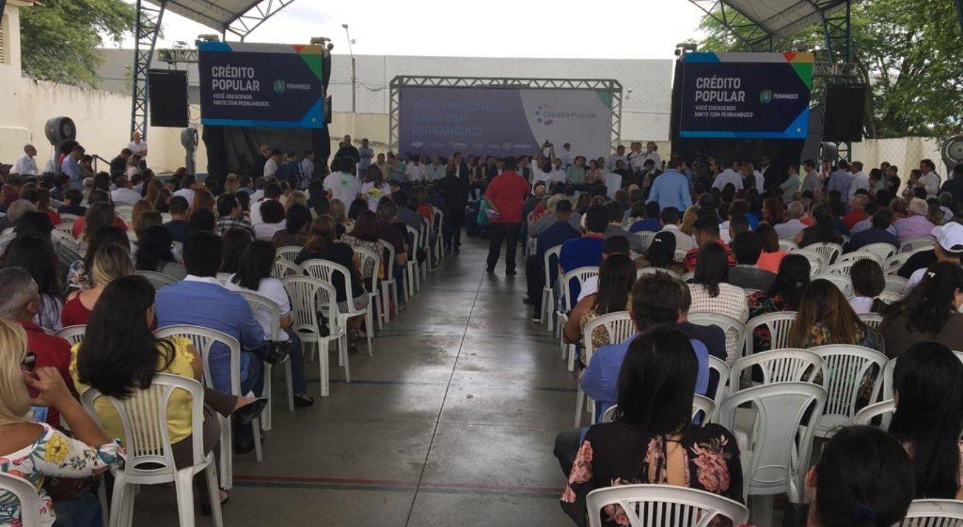 Paulo Câmara lança Programa de Crédito Popular em Caruaru
