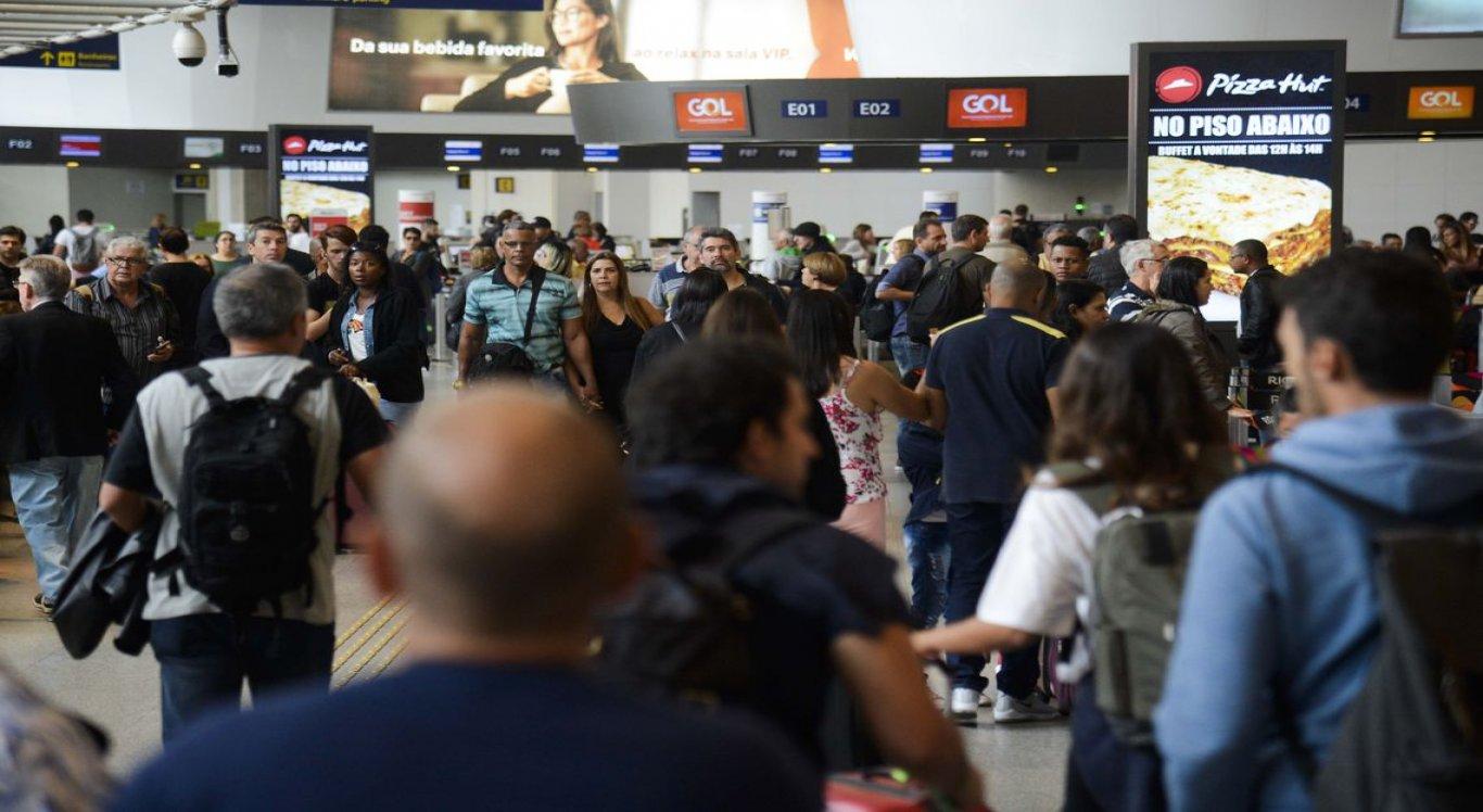 Os free shops ou duty free shops são lojas geralmente localizadas em salas de embarque e desembarque de aeroportos