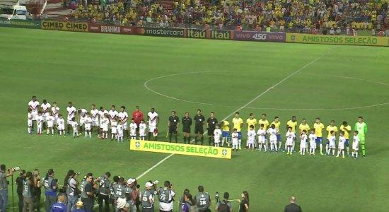 Seleção olímpica brasileira goleia a Venezuela em jogo nos Aflitos