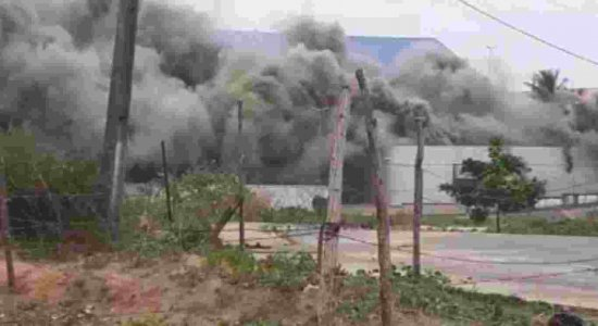 Vídeo: incêndio atinge escola no Cabo de Santo Agostinho