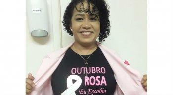 Maria Luiza sobreviveu ao câncer e hoje é voluntária