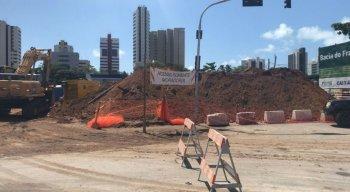 Obra em canal de Olinda começou na última sexta-feira (11)