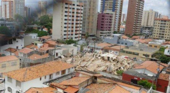 """""""Tudo indica que o prédio estava em reformas'', diz presidente do CREA sobre desabamento"""