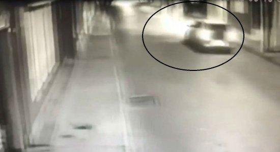 Vídeo: comerciante morre após ser atropelado em Limoeiro