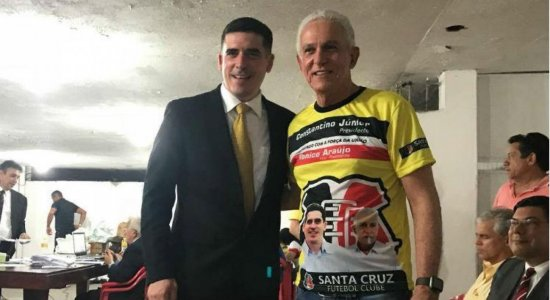 """Vice-presidente do Santa Cruz diz que extensão dos mandatos tem legalidade: """"Não é nada de golpe"""""""